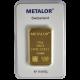 Lingotin 50 g Metalor